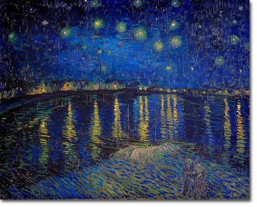 Nuit étoilée, Van Gogh 1888